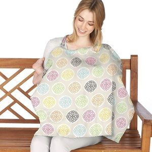 Nuby Nursing Cover Multicolored Flower Print